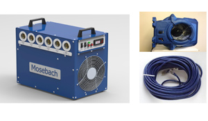 PCS Heat - Bed bug heat treatment system